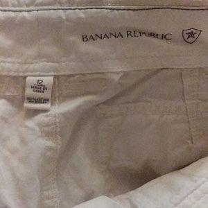 1 pair of size 12 bannana republic capries